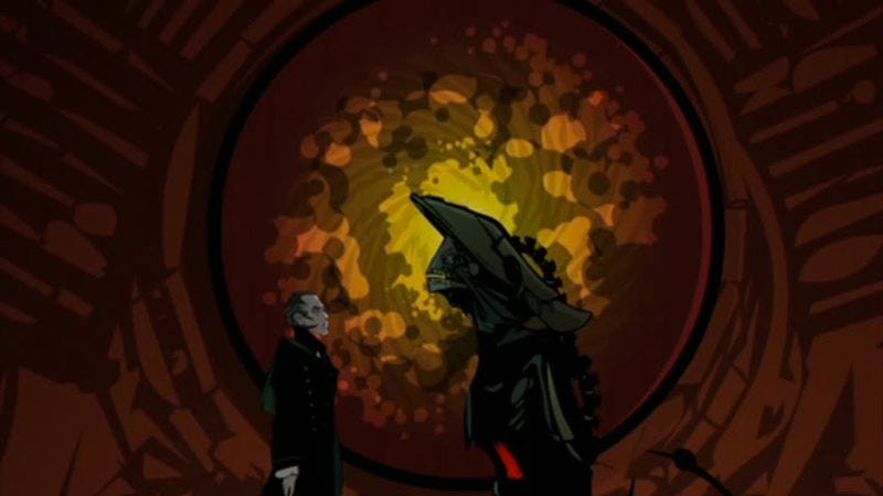 """Illustration for article titled Doctor Who (Classic): """"Scream Of The Shalka"""""""