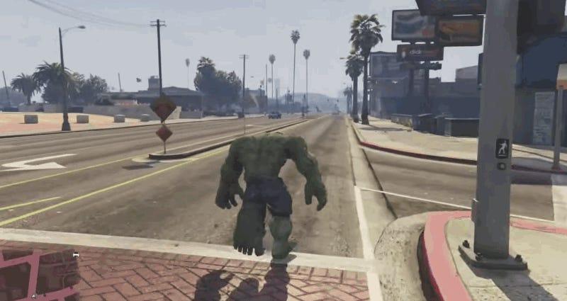 Flipboard: El mejor juego de Hulk es este mod creado para GTA 5