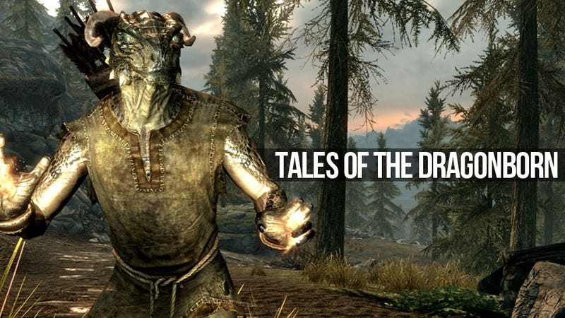 Illustration for article titled True Tales of Skyrim Adventure: An Argonian Walks Into an Execution...