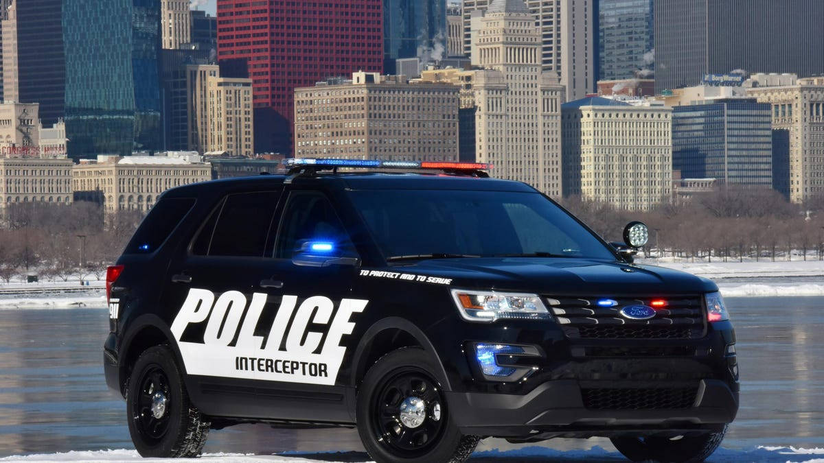 What The Police Spec 2016 Ford Explorer Has That Your Mom S Doesn T