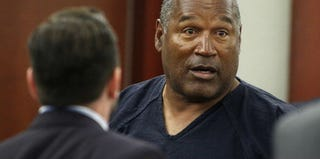 O.J. Simpson tried to get his conviction reversed in May. (Steve Marcus/Pool/Getty Images)