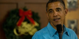President Obama (Pool/Getty Images News)
