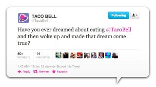 Illustration for article titled Taco Bell's Stupidly Exploitative MLK Day Tweet