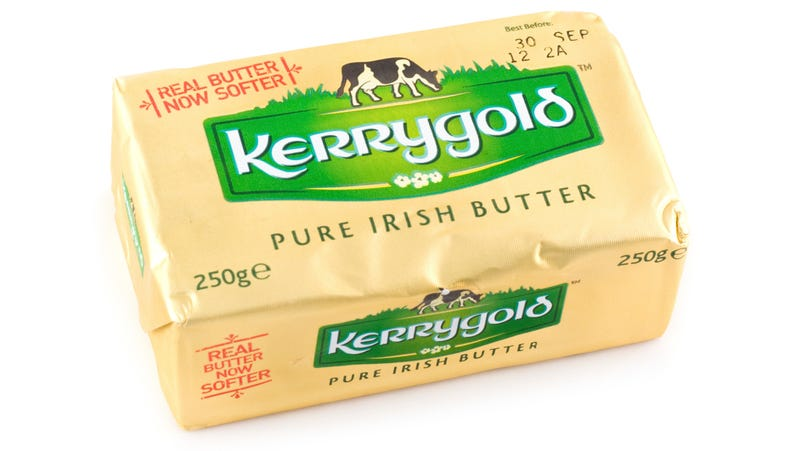 Illustration for article titled Sorry potatoes, Kerrygold butter is Ireland's supreme food export