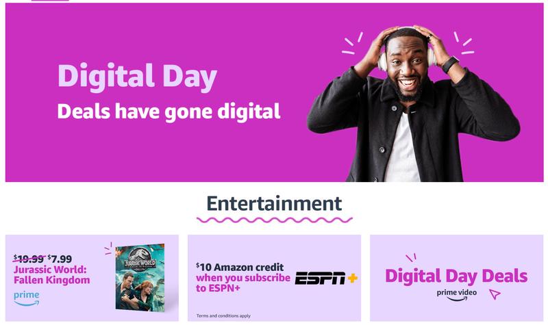Día Digital en Amazon 2018Imagen: Amazon