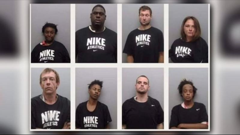 Illustration for article titled Sheriff Insults Colin Kaepernick by Having Prisoners Wear Nike Shirts in Mug Shots