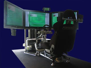 Illustration for article titled VRX Makes The Ultimate Xbox 360 Driving Setup a Reality
