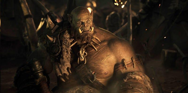 Illustration for article titled Primera imagen del jefe orco Orgrim en la película World Of Warcraft