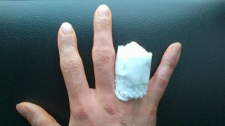 Illustration for article titled Motorcycle racer chops off finger to avoid missing Superbike season