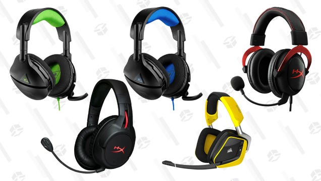 Shopping for a Gaming Headset? Best Buy s eBay Store Has a Few On Sale
