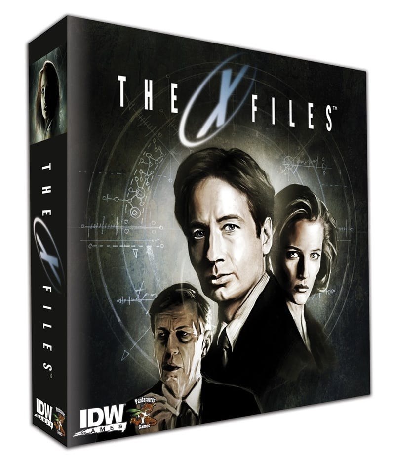 Illustration for article titled The X-Files Board Game