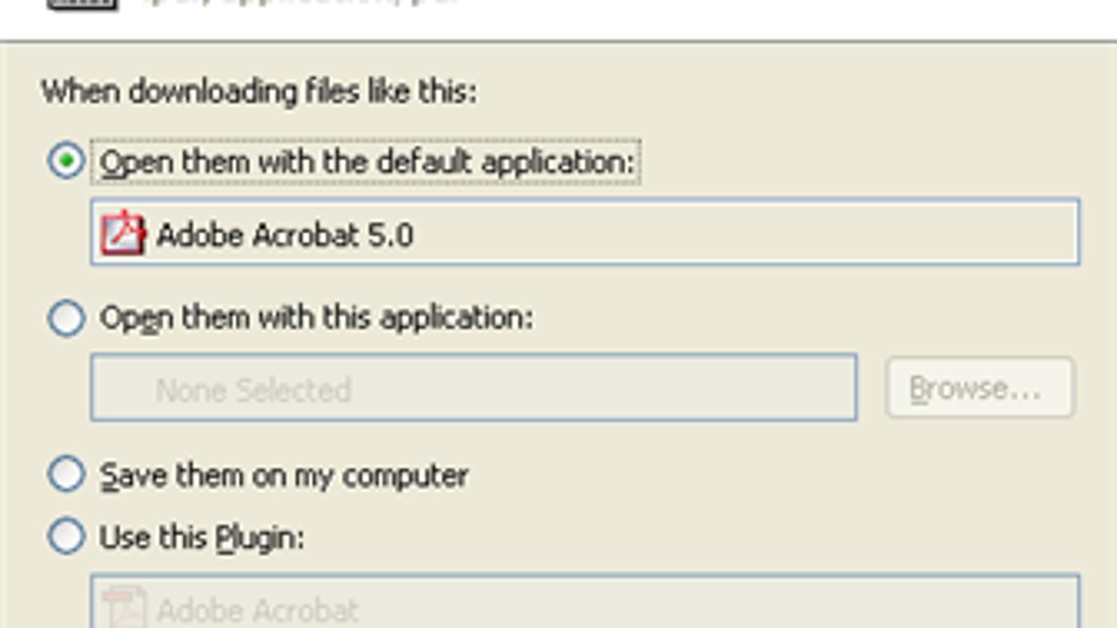 Pdf Open Application
