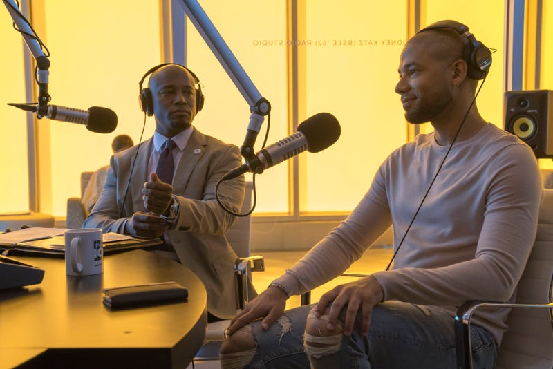 Taye Diggs and Jussie Smollett in a scene from EmpireChuck Hodes/Fox