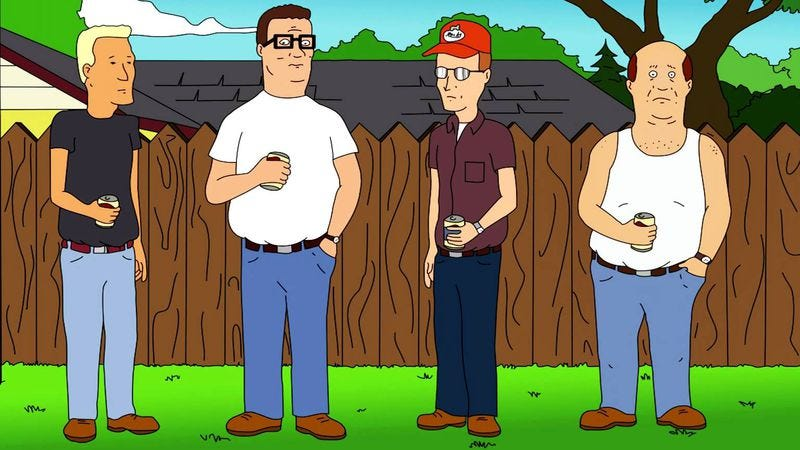 Illustration for article titled Read This: King Of The Hill was America's last truly bipartisan comedy
