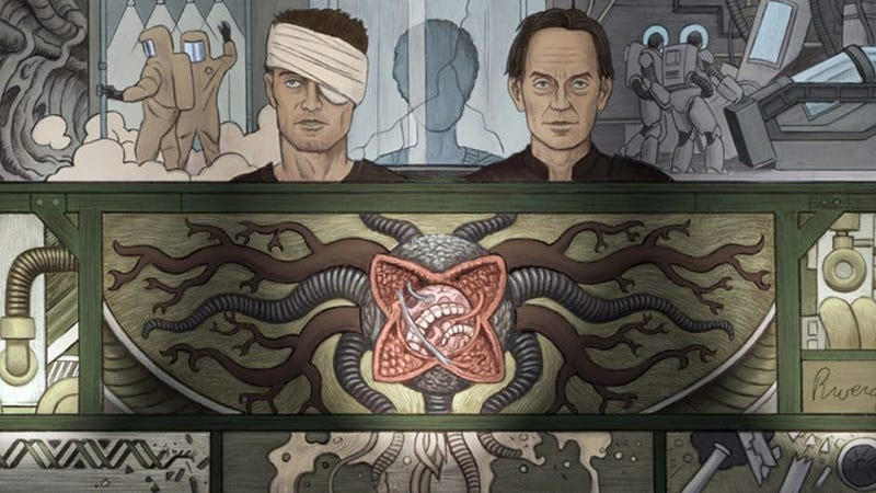 The cover of William Gibson's Alien 3.