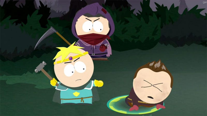 Illustration for article titled South Park: The Game is Sorta Like Paper Mario, Only With More Bleeding, Crying Children