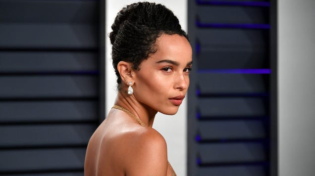 The cat's out of the bag: Zoe Kravitz will play Catwoman in Matt Reeves' The Batman