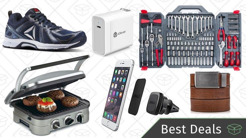 Illustration for article titled Wednesday's Best Deals: PlayStation VR, Ratchet Belts, Phone Mounts, and More