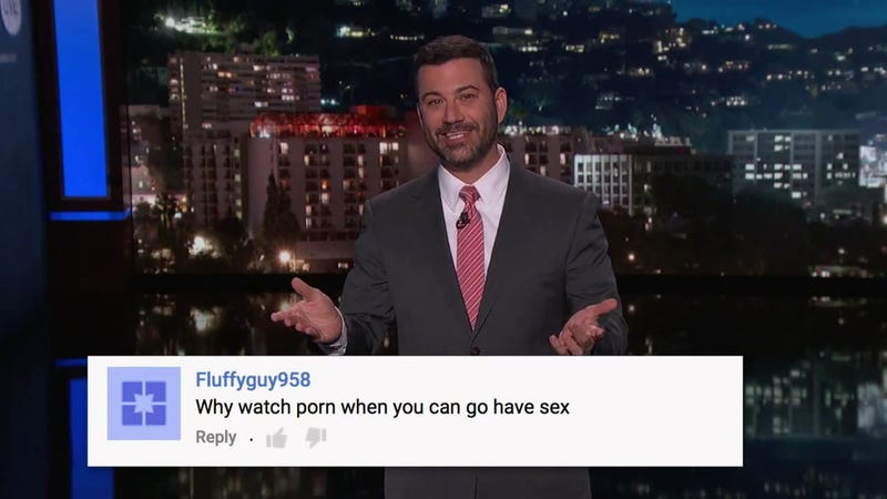 Illustration for article titled Jimmy Kimmel Responds to YouTube Backlash