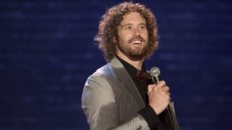 Illustration for article titled T.J. Miller might have to accept that he's a very funny comedian