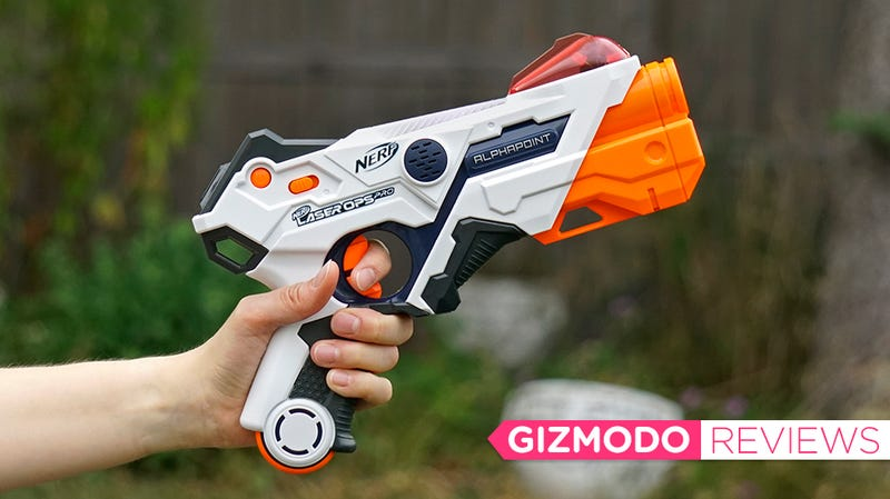 Nerf Laser Ops Pro Review: I Don't Miss the Darts