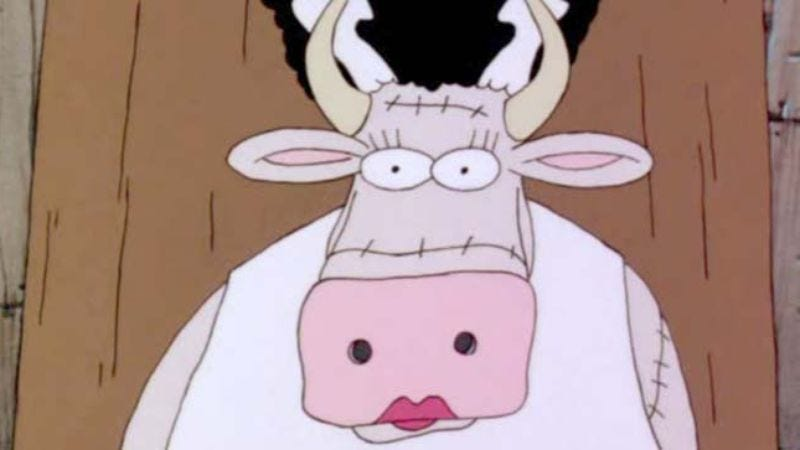 You Re On Television For Some Reason Cow From The Far