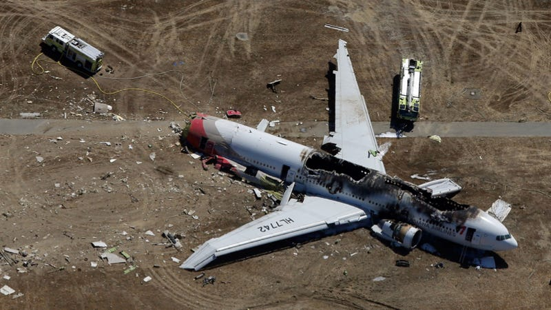 Illustration for article titled Asiana Airlines Flight 214: Here's What We Know So Far [UPDATE]