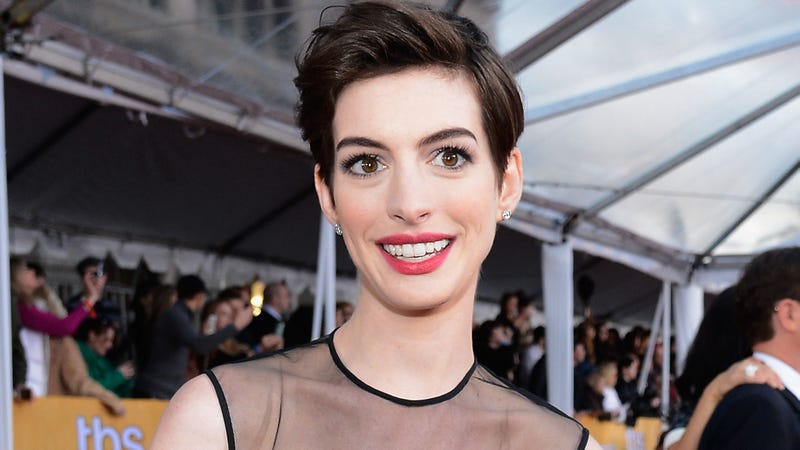 Illustration for article titled Anne Hathaway Took Time Off Because 'People Needed a Break From Me'