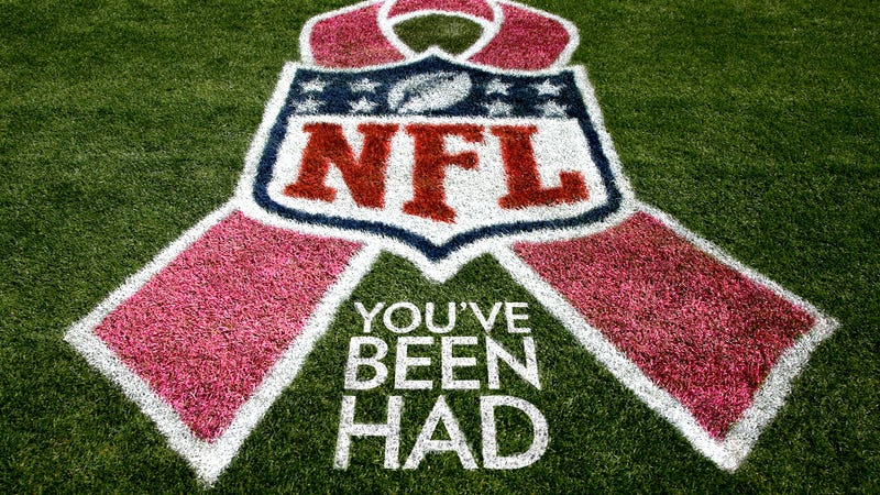 The nfl 39 s campaign against breast cancer is a total scam for Breast cancer nfl shirts