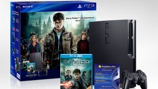 Illustration for article titled Sony Conjures Up Magical Harry Potter PS3 Bundle