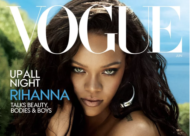 Illustration for article titled Rihanna Rules the World on June Cover of Vogue