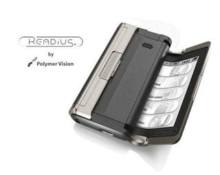 Illustration for article titled Readius-Like Folding eReader Planned for Next Year