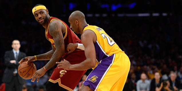 Report: The Lakers Wanted To Trade Kobe Bryant For LeBron James…