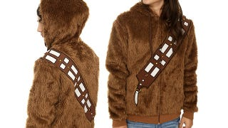 Illustration for article titled Stay As Warm As a Wookiee In This Hoodie