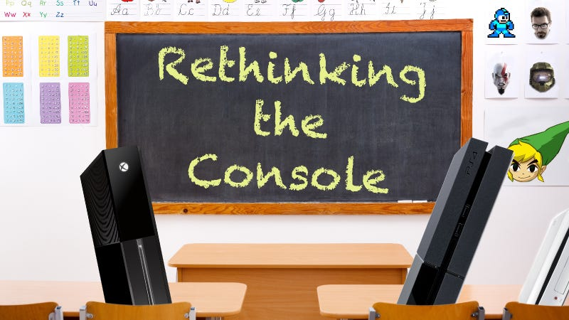 Illustration for article titled Doing It Wrong: The Xbox One and PS4 Aren't the Consoles We Need