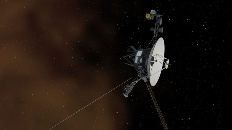 Illustration for article titled This time it's official.  Voyager 1 is in interstellar space.