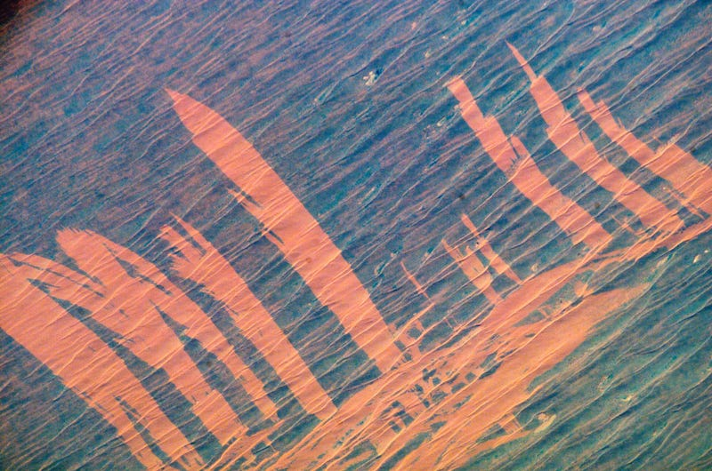Illustration for article titled Fires Leave Picture-Perfect Scars in the Australian Outback