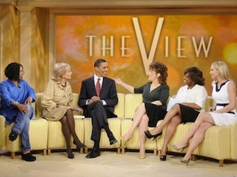 Illustration for article titled 'Sexy-Looking' Obama To Return To The View