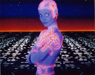 Illustration for article titled Lora Bradley Lives! Tron's Cindy Morgan Tells All