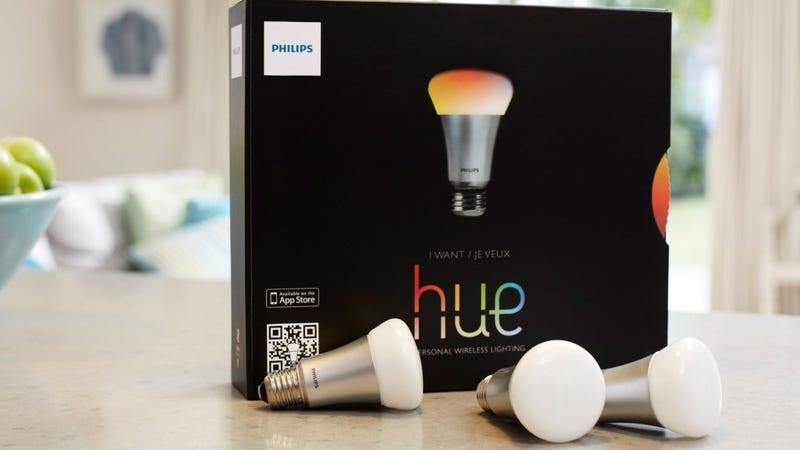 Philips Hue Starter Kit, $135