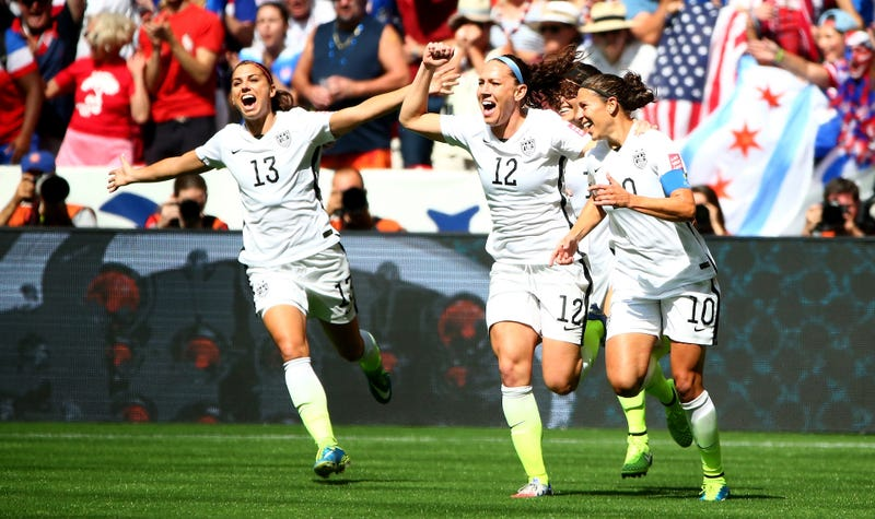 Illustration for article titled Entire U.S. Women's National Team Sues U.S. Soccer For Equal Pay