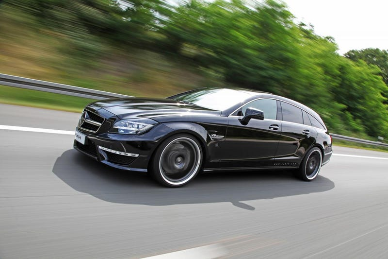 Illustration for article titled Because the CLS AMG Seemed Under-powered to Someone...