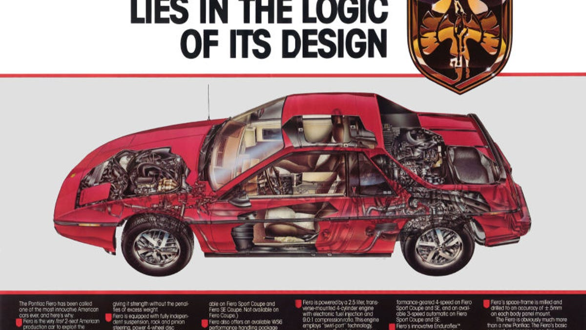 Pontiac Fiero The Definitive History Wiring Diagram Of Hero Honda