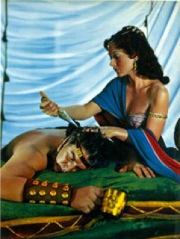 Image result for samson delilah hair