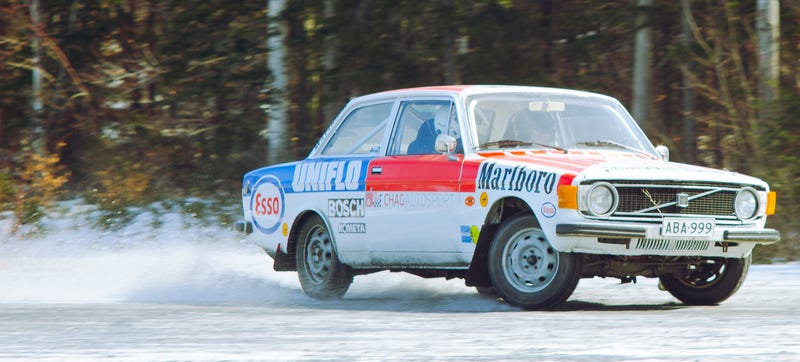 I Drove The Perfect Car This Volvo Rally Legend