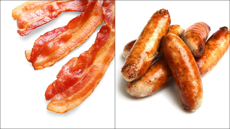 Illustration for article titled Choose one: Bacon or sausage. Answer now.