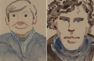 Illustration for article titled Una Stubbs painted these adorable portraits of Sherlock and Watson