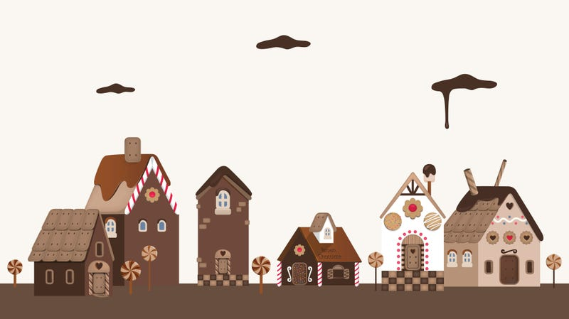 "Illustration for article titled Chocolate cottage in France gives new meaning to ""home sweet home"""