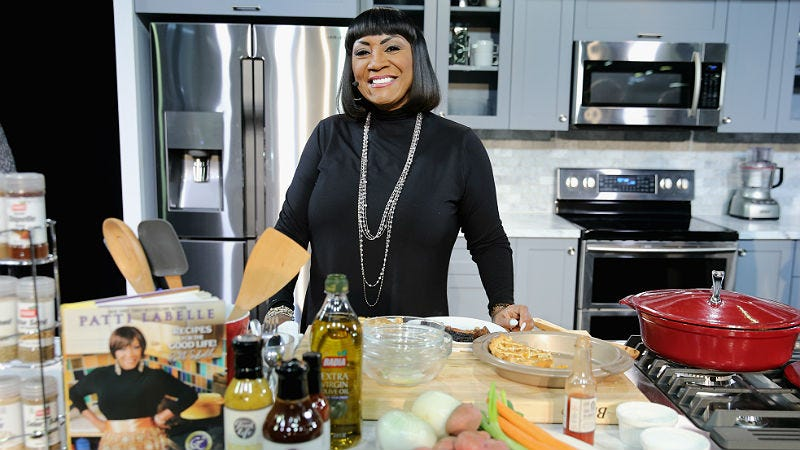 Illustration for article titled Patti LaBelle Has a Holiday Cooking Special Coming With James Wright Chanel!