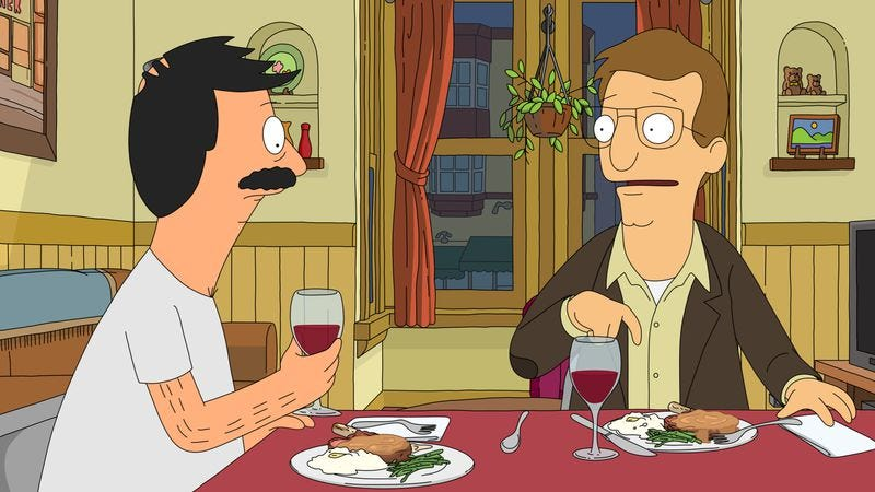 Illustration for article titled Bob's Burgers returns with a hilarious dinner party